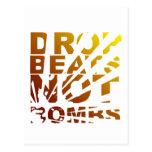 DROP BEATS NOT BOMBS EXPLOSION - DJ POSTCARD