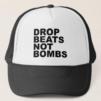 Drop Beats Not Bombs Trucker Hat