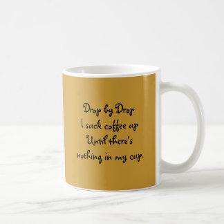 Drop by Drop Basic White Mug