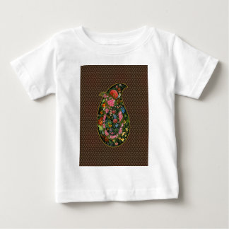 Drop decorated with flowers and birds of the art o t shirt