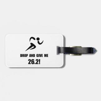 Drop Give Marathon Luggage Tag