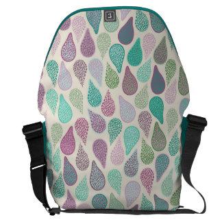 Drop in A drop pastels Courier Bag