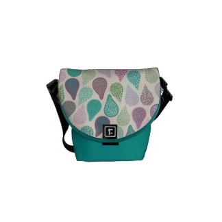 Drop in A drop pastels Messenger Bags