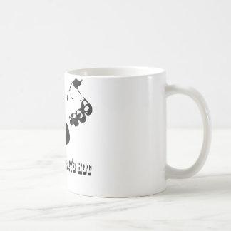 drop it likes it hot basic white mug
