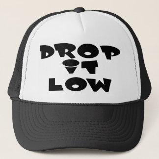 drop it low 1.0 trucker hat