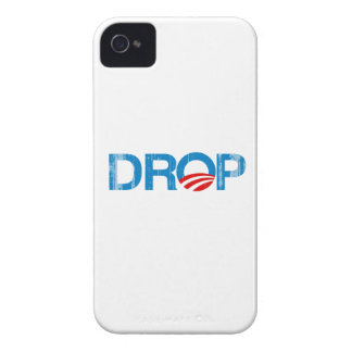 DROP OBAMA Faded.png iPhone 4 Case