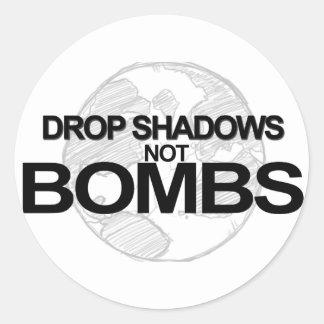 Drop Shadows Stickers