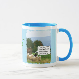 Drop Stitch Sheep Mug