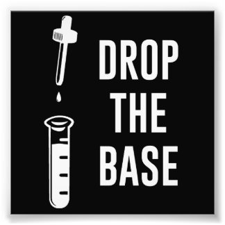 Drop the Bass Chemistry Base Photo Print
