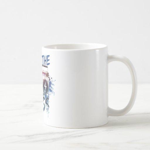 Drop the Bass Coffee Mugs