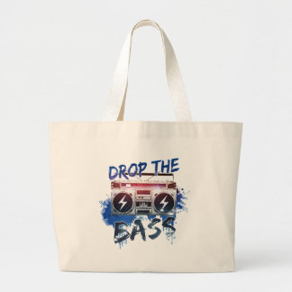 Drop the Bass Jumbo Tote Bag