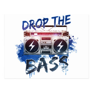 Drop the Bass Post Cards