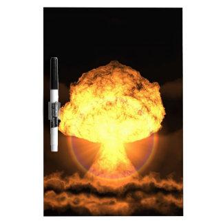 Drop the bomb dry erase board