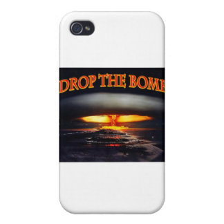 Drop the Bomb.jpg iPhone 4/4S Covers