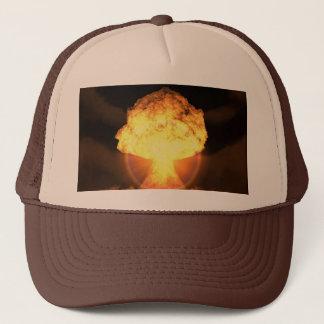 Drop the bomb trucker hat
