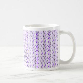 Drop Work Basic White Mug
