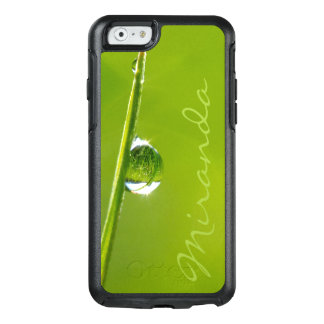 Droplet - Personalized w. Name - OtterBox iPhone 6/6s Case