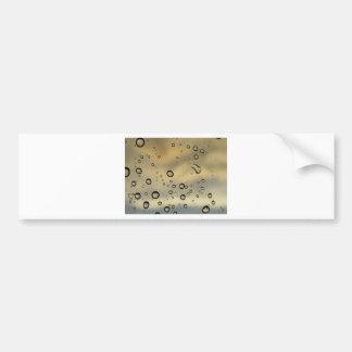 Droplets Bumper Sticker
