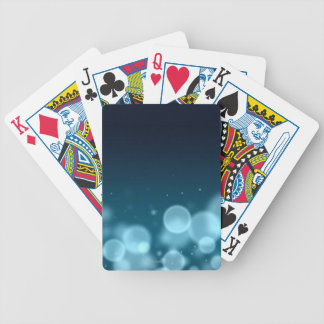 Droplets of Water Bicycle Playing Cards