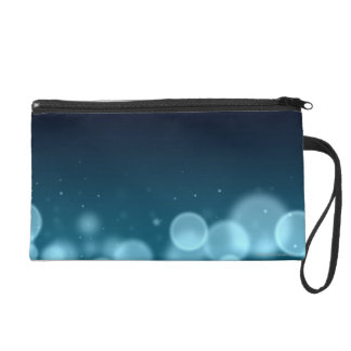 Droplets of Water Wristlet
