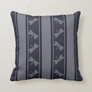 Dropped Lines Blue Dragonfly Decor-Soft Pillows