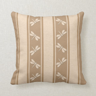 Dropped Lines Chiffon Dragonfly Decor Pillows