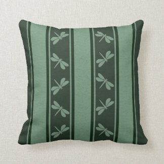 Dropped Lines Greens Dragonfly Decor-Soft Pillows