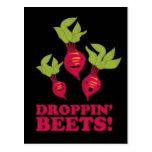Droppin' Beets Postcard