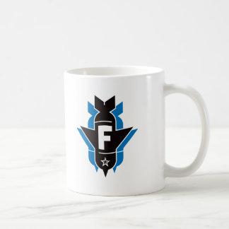 Dropping F Bombs - Blue Coffee Mugs