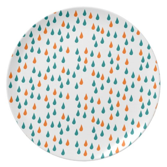 Drops / Melamine Plate