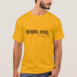 Drops Mic Comedy T-Shirt