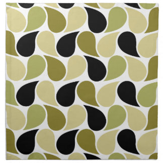 Drops Pattern custom cloth napkins