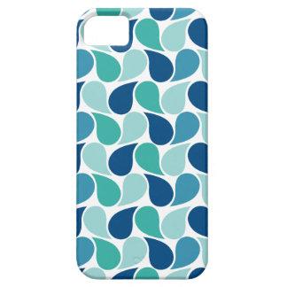 Drops Pattern custom iPhone 5 case-mate