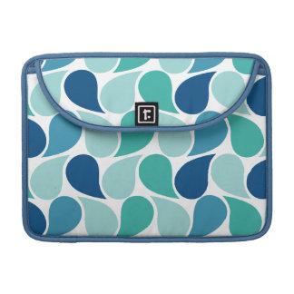 Drops Pattern custom MacBook sleeve