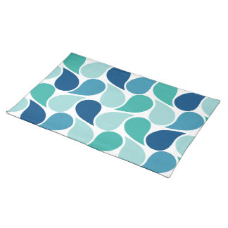 Drops Pattern custom placemat