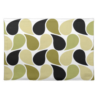 Drops Pattern custom placemat