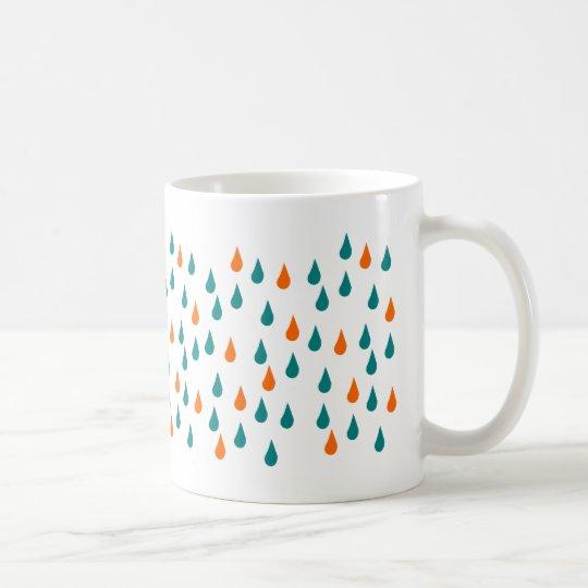 Drops / White 325 ml Classic White Mug