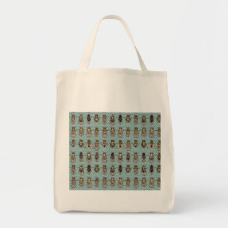 Drosophila Fruit Fly Genetics Grocery Tote Bag