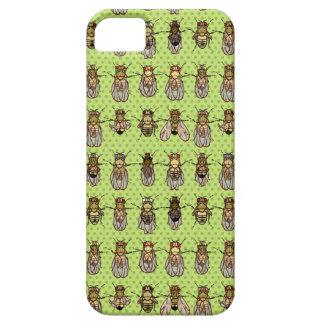 Drosophila Fruit Fly Genetics - mutants - Lime iPhone 5 Cover