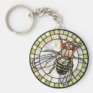 Drosophila Key Ring
