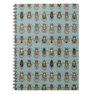 Drosophila mutants notebook