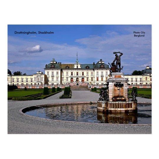 Drottningholm, Stockholm, Photo  Postcard