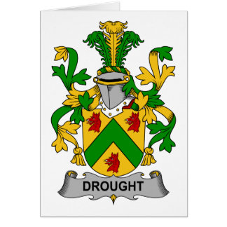 Drought Family Crest Card
