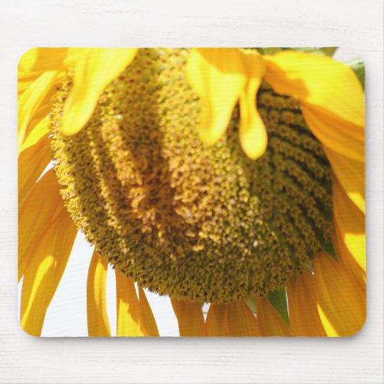 Drowsy Sunflower mousepad