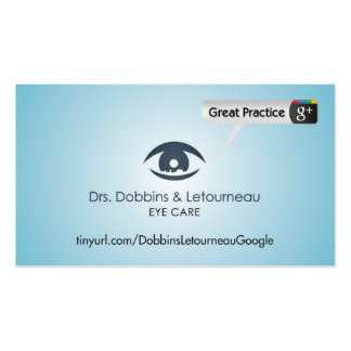 Drs. Dobbins & Letourneau Double-Sided Standard Business Cards (Pack Of 100)