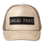 DRUG FREE TRUCKER HAT
