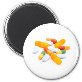 Drugs 6 Cm Round Magnet