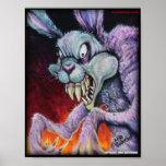 Drugs Bunny - Colour Print