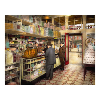 Drugstore - Exact change please 1920 21.5 Cm X 28 Cm Flyer