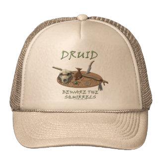 Druid Beware the Squirrels Mesh Hats